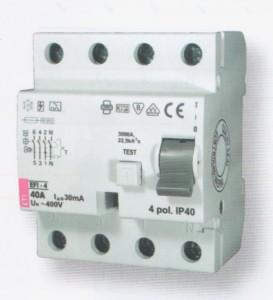 EFI 4A áramvédő-kapcsoló