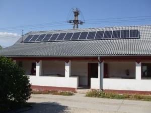 Eltszer Kft., Kiskunfélegyháza, 3 kW napelem rendszer