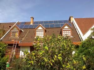Kecskemét, 4,75 kW-os SolarEdge napelem rendszer - a kiépített rendszer