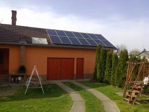 Kiskunfélegyháza, Bankfalu – 5 kW napelem rendszer kiépítése, 2-es kép