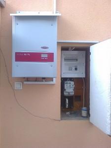 Kiskunfélegyháza, napelemes rendszer bővítése 4 kW-ról 5 kW-ra, 1. kép