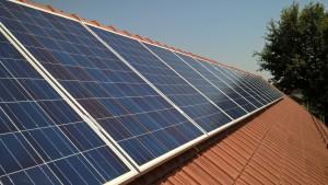 Kiskunfélegyháza, Jókai város, 4 kW-os napelemes rendszer