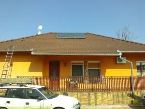 Kiskunfélegyháza, Petőfiváros, 3,5 kW-os napelemes rendszer - 1