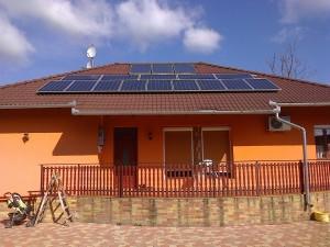 Kiskunfélegyháza, Petőfiváros, 3,5 kW-os napelemes rendszer - 3