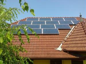 Kiskunfélegyháza, 4 kW SolarEdge napelemes rendszer, kiépítve
