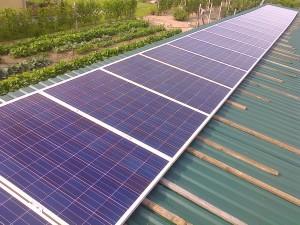 Ballószög, 4.6 kW-os naplemes rendszer, 2-es kép