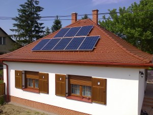 Ladánybene - újabb 2 kW-os napelemes rendszer