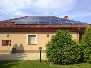 Lajosmizse, 6 kW-os napelemes rendszer kiépítése, 1. kép