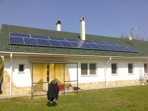 Móricgát, 5 kW-os nepalemes rendszer