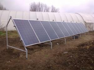 Petőfiszállás, Tanya, 3 kW napelemes rendszer, kiépítve