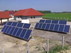 Szentkirály, Falusi turizmus, 6 kW napelem rendszer